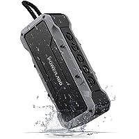 POWERADD Enceinte Bluetooth Portable, Haut-Parleur Waterproof avec 4 Speakers en 36W Total Main Libre Basse Perfomante pour Android, iPhone et Autres Appareils Bluetooth - Gris