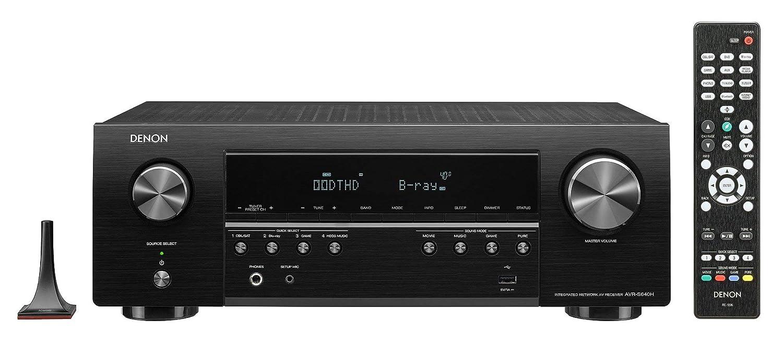 Denon AV Receivers Audio /& Video Component Black Renewed AVRS640H