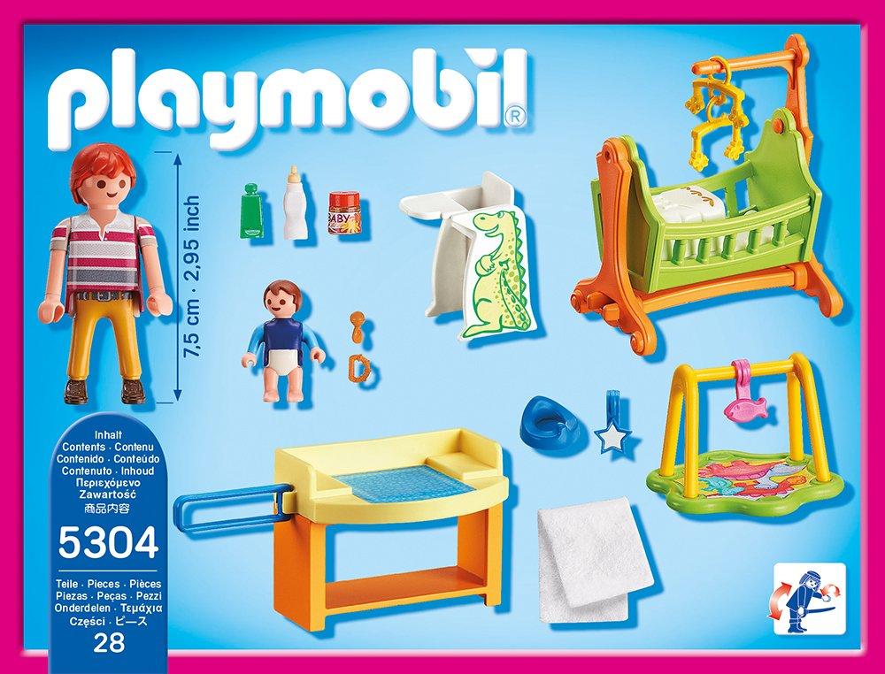 Playmobil 5304 babyzimmer mit wiege vos for Kinderzimmer playmobil