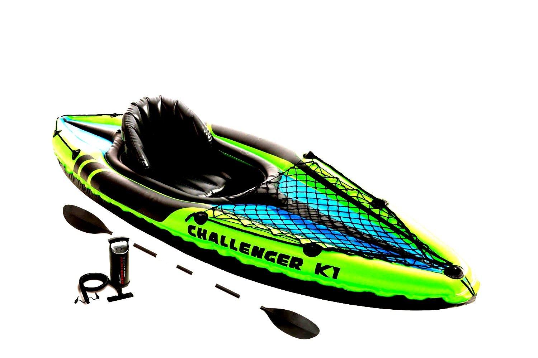 新作商品 カヤック ウォーターラフト フィッシング B074NXMV58 1人用 - スポーティ インフレータブル 川 ボート 湖 川 ウォータースポーツ&オール&ポンプ - スカルツ B074NXMV58, RiBBONs:3f8ba5d9 --- a0267596.xsph.ru