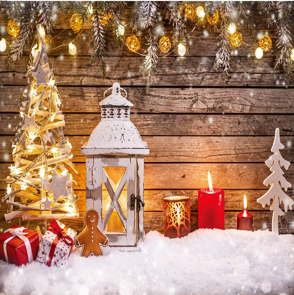 LTLYH 7x5ft Christmas Fireplace Theme Backdrop for Photography Tree Sock Gift Decorations for Xmas Party Supplies Photo Background Pictures Banner Studio Decor Booth Props A048