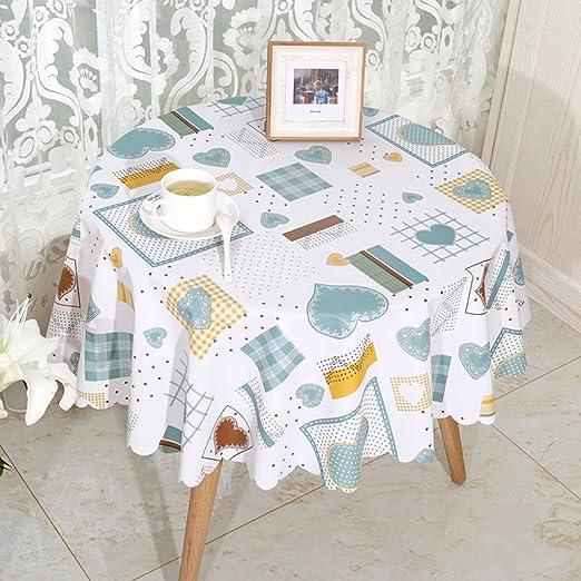 cubre mesa Mantel limpie Cuadrado De Encaje En Relieve De Cocina Comedor Impermeable
