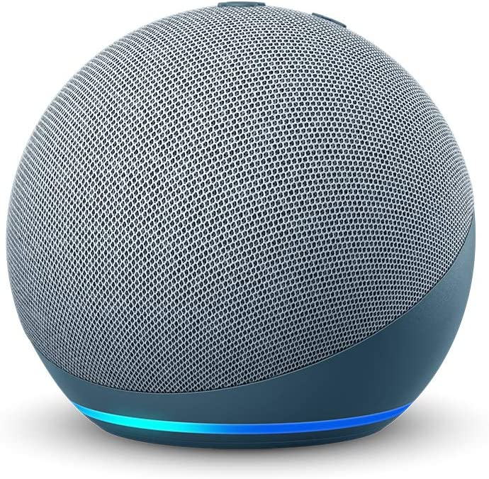 All-new Echo Dot (4th Gen) Smart speaker with Alexa - Twilight Blue
