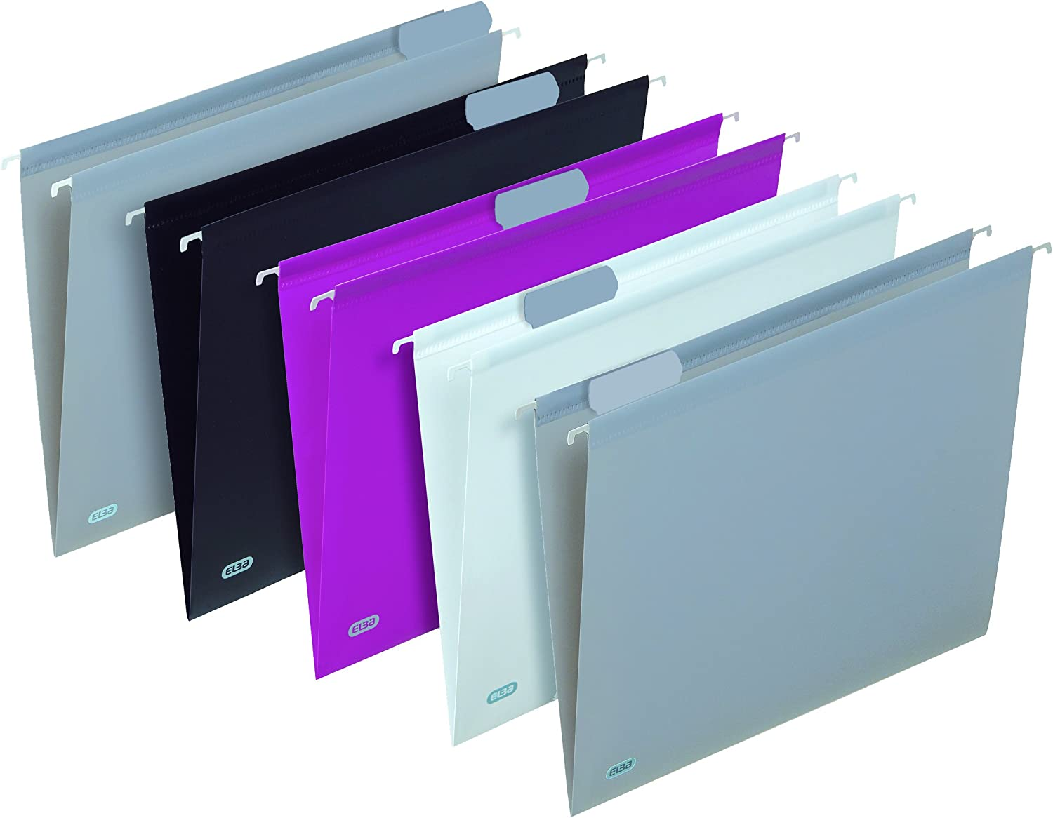 Trendy Elba Suspension Files for Drawers Pack of 5/Assorted Colours