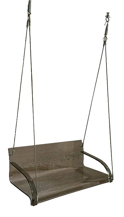 Bhagavati Enterprises Acrylic Swing (135 cm X 57 cm X 43 cm_Brown)