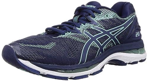 Inmuebles Púrpura Valiente  Buy ASICS Women's Gel-Nimbus 20 (D) Indigo Blue/Opal G Running Shoes - 9 UK  (43.5 EU) (11 US) (T851N.4949.11) at Amazon.in