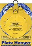 Flatirons Disc Adhesive Large Plate Hanger Set (4 - 4 Inch Hangers)