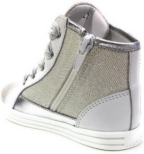 Hogan Rebel Bambina HXT1410K210ICL Bianco Polacco Estate Sneaker e ...
