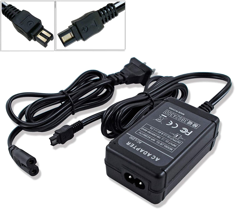 AC Adapter Power Supply Cord for Sony HandyCam DCR-PC350 DCR-SR40 DCR-SR42 DCR-SR45