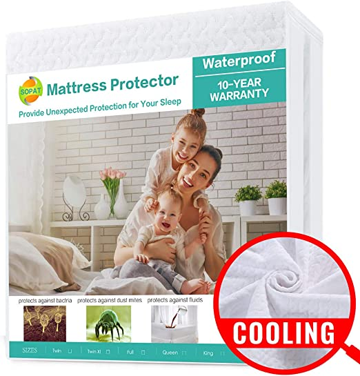 Adult Bed Waterproof Sheets PVC Faux Leather Mattress Cover Sheet