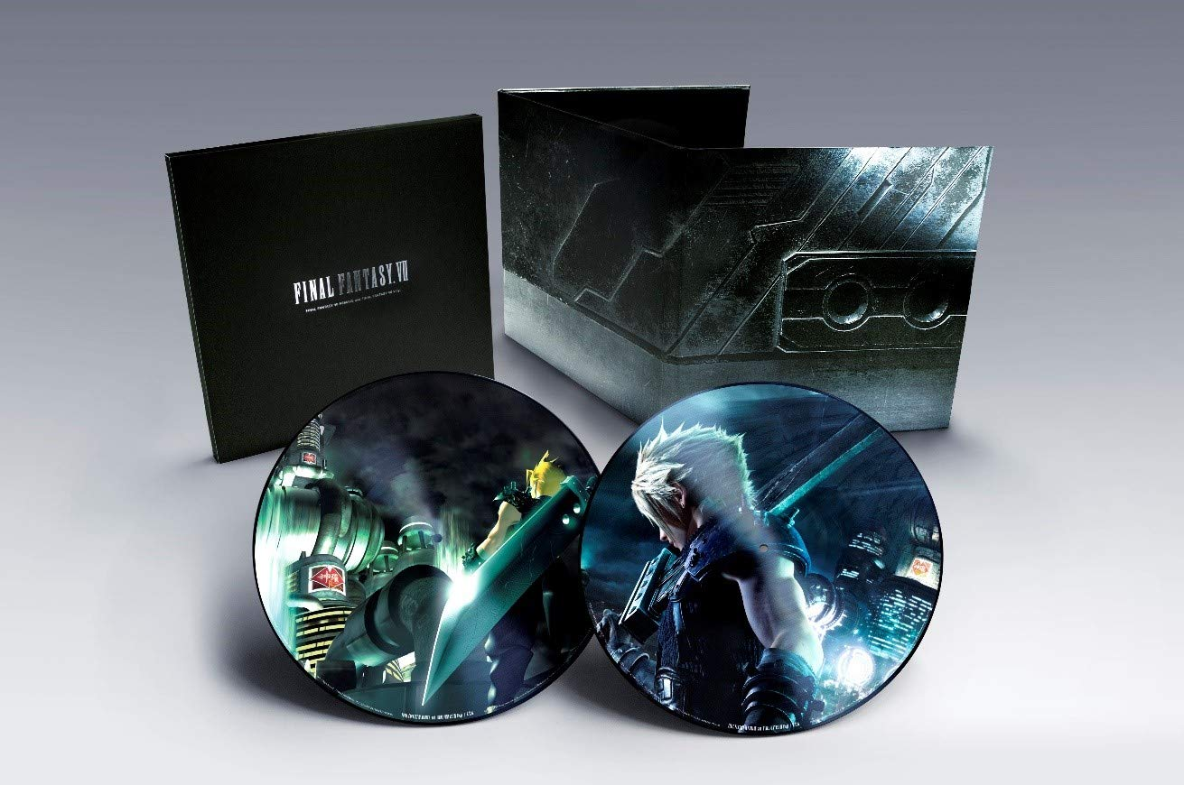 Final Fantasy VII Remake And Fantasy VII Vinyl by Masterworks