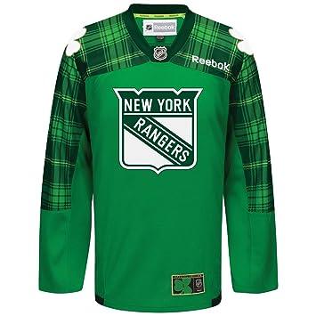 New York Rangers NHL Reebok Green St Patricks Day Practice Premier Jersey  For Men (3XL d7cc0ec7b