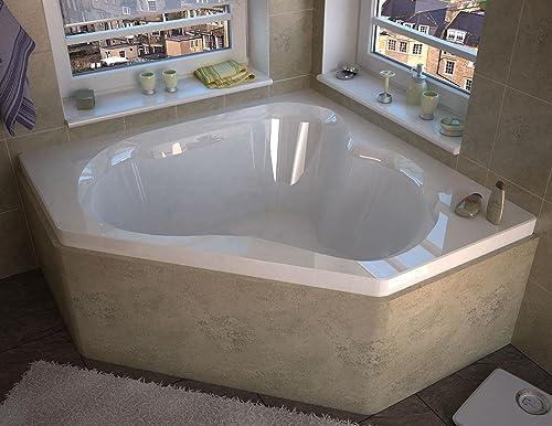 Spa World Venzi Vz6060c Tovila Corner Soaking Bathtub