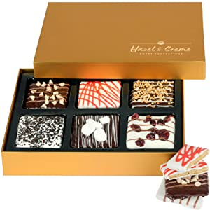 Hazel & Creme Chocolate Covered Graham Crackers - Gourmet Food Gift - Valentines, Birthday, Thank You Gift