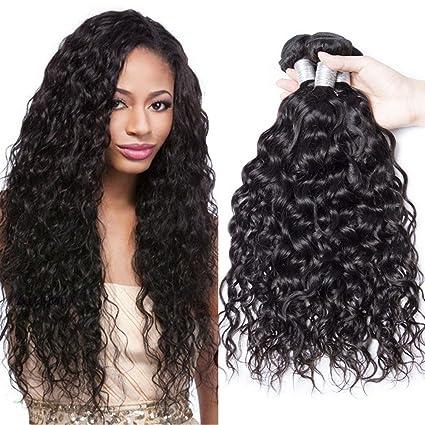 Extension di capelli ondulati malesiani b9e1fffc6680