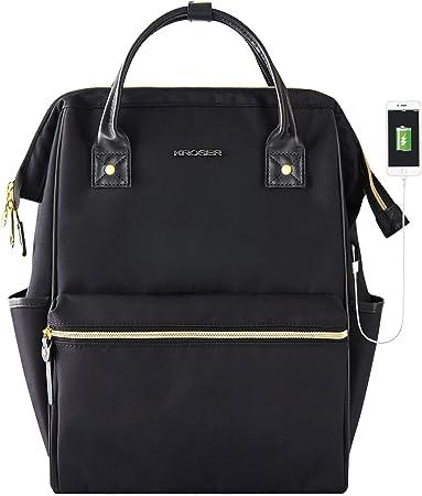 KROSER Stylish Water Repellent Minimalist Backpack