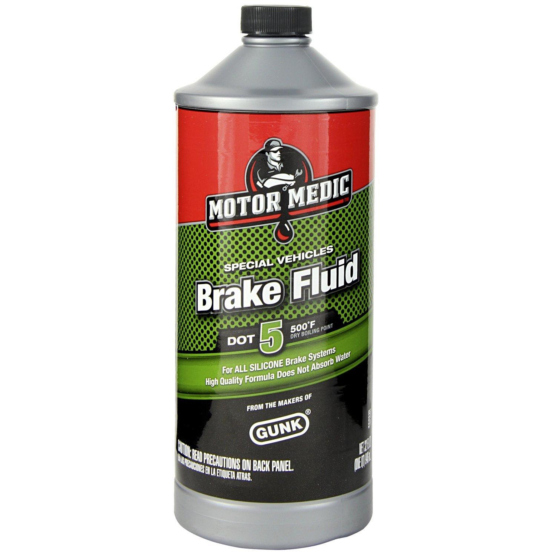 Motor Medic M4032/6-6PK DOT 5 Silicone Brake Fluid - 32 oz., (Case of 6) by MotorMedic