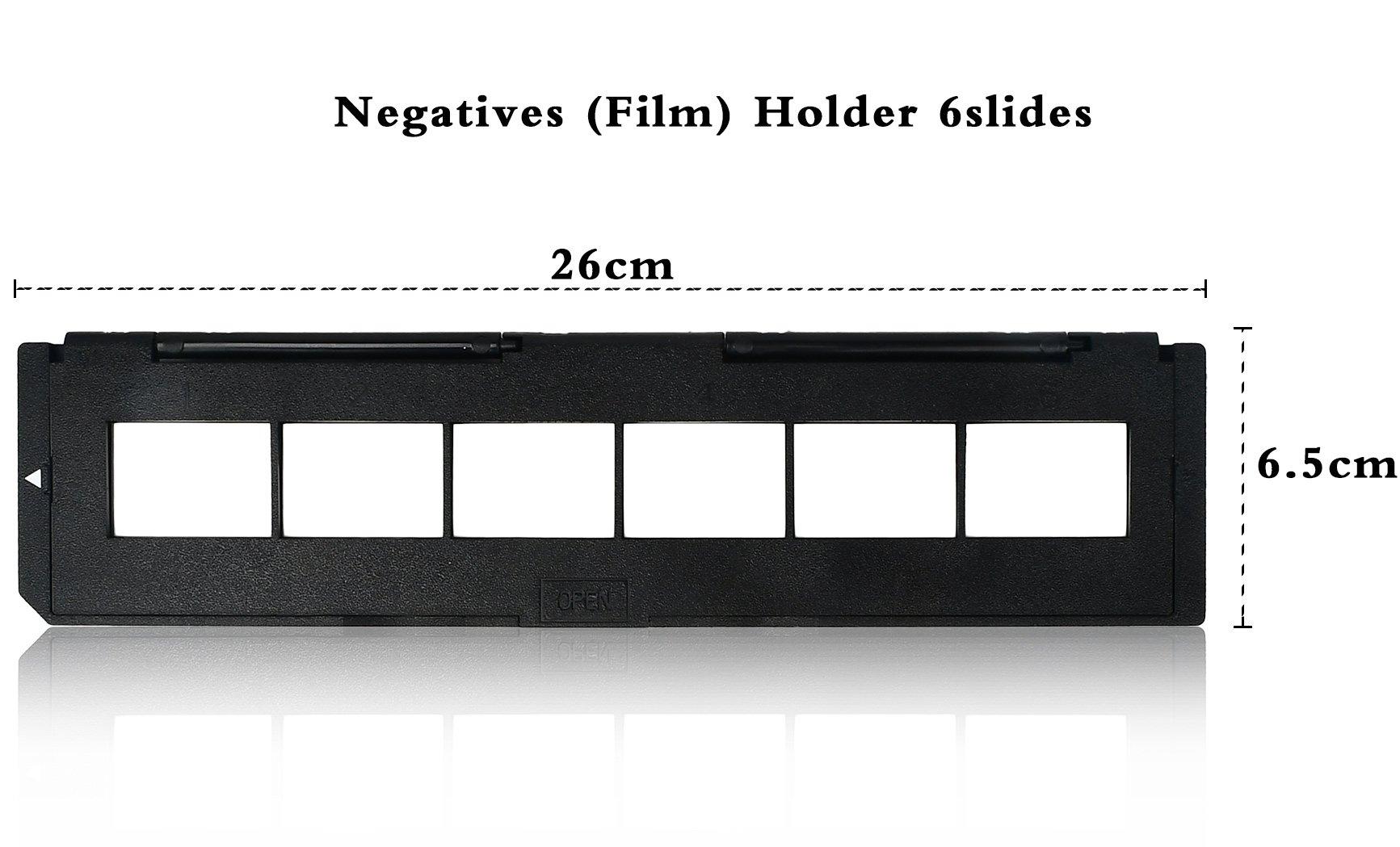 DIGITNOW! 1 Pack Spare 135 Slide Holder and 1 pack spare 35mm film holder for Slide/film Scanner(7200, 7200u, 120 Pro Scanners) by DIGITNOW (Image #2)
