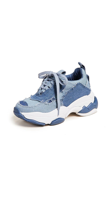 Jeffrey Campbell Women's LO-FI Sneakers B07CXSCF2D 9 B(M) US|Blue Denim