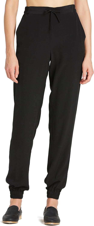 LilySilk Pantalones de Seda de 18MM Estilo Básico
