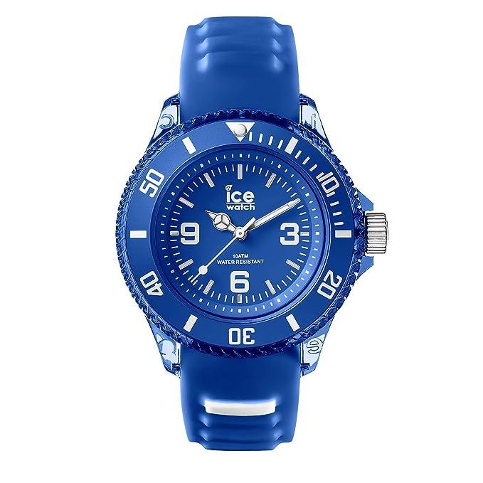 Blaue Mit Marine 001455small Aqua Herrenuhr Ice Silikonarmband Watch XiOPTwkuZ