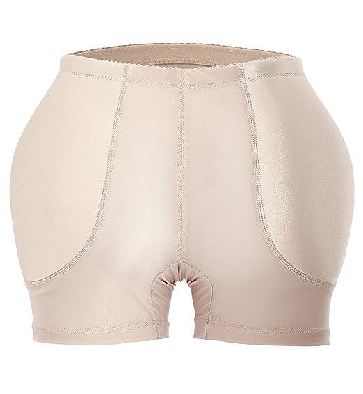 189304bc3d YIANNA Damen Miederpants Gepolstert Po Push Up Butt Lifter Miederhose  Shapewear  Amazon.de  Bekleidung