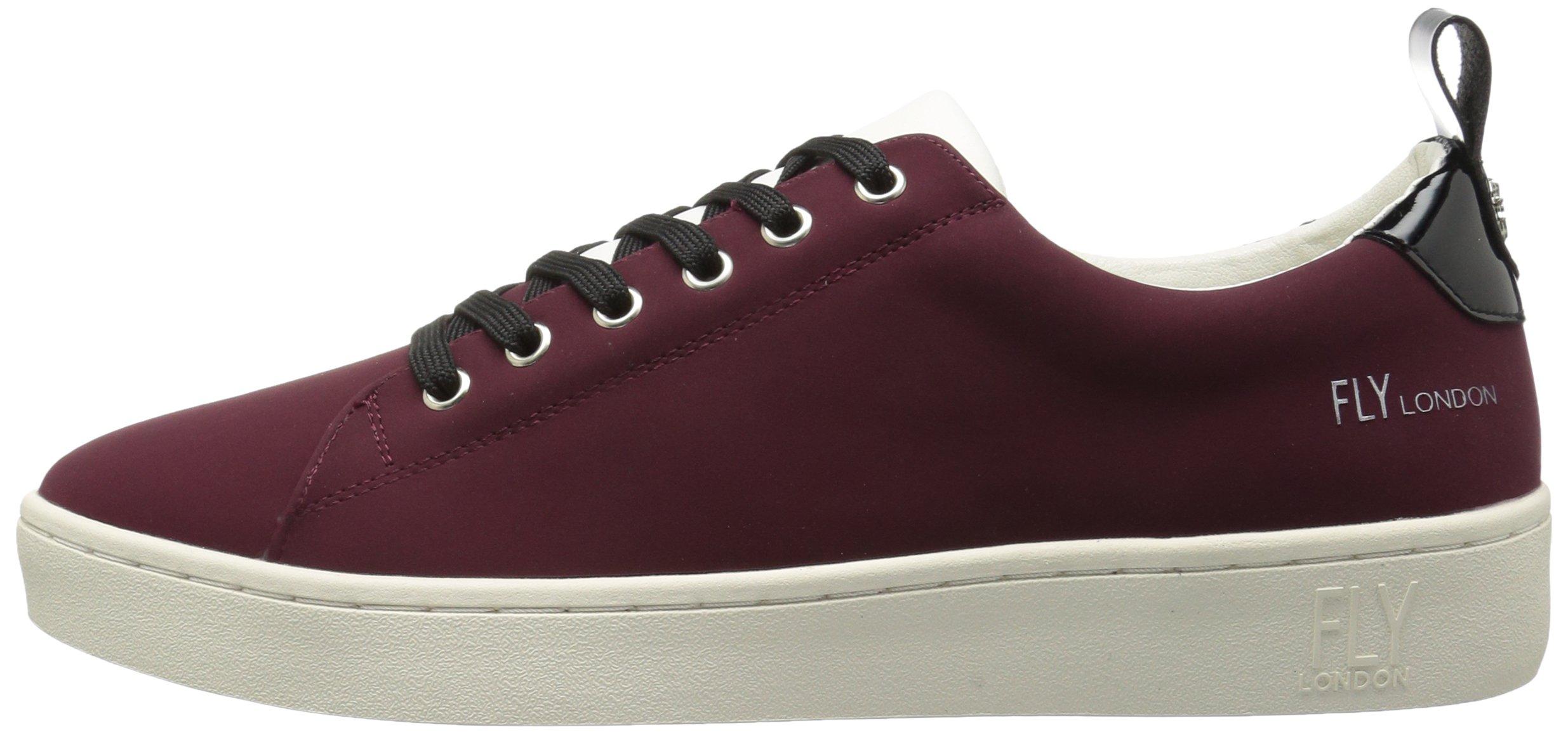 FLY London Women's MACO833FLY Sneaker, Bordeaux/Black Nubuck/Patent, 37 M EU (6.5-7 US) by FLY London (Image #5)
