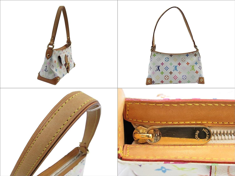 dd6fcad9ce12 メイン素材: モノグラム?マルチカラー. Authentic LOUIS VUITTON Eliza Shoulder Bag Multicolore  White M40098 Used Vintage 商品コード:2100300876706 ランク:B