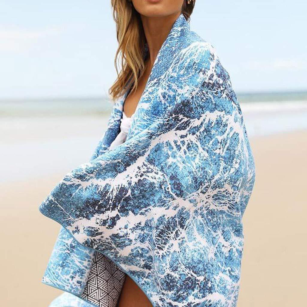 Multicolour ALLTA Manta de Toalla de Playa sin Arena Absorbente de Doble impresi/ón Cubierta Exterior de Secado r/ápido 160 cm x 70 cm Nadan Playa y Toallas de Ba/ño Algod/ón
