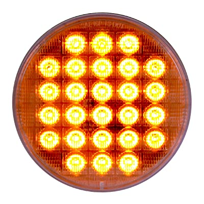 "Grand General 74891 Amber 4"" Smart Dynamic LED Sealed Light: Automotive"