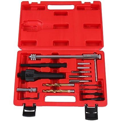 Timbertech - Kit de herramientas para bujías de precalentamiento, 16 piezas