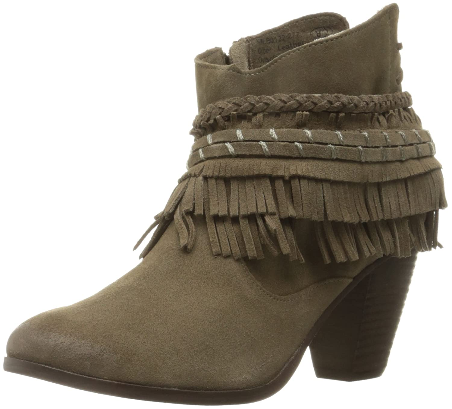 Naughty Monkey Women's in Lyne Ankle Bootie B01H3G9IB0 9 B(M) US Taupe