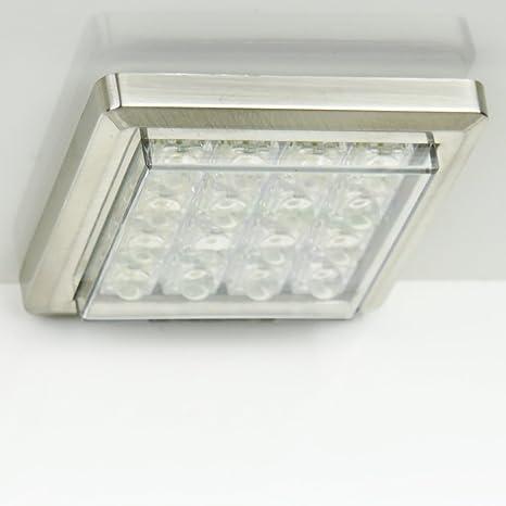 LED vitrina iluminación lámpara de techo Foco empotrable ...
