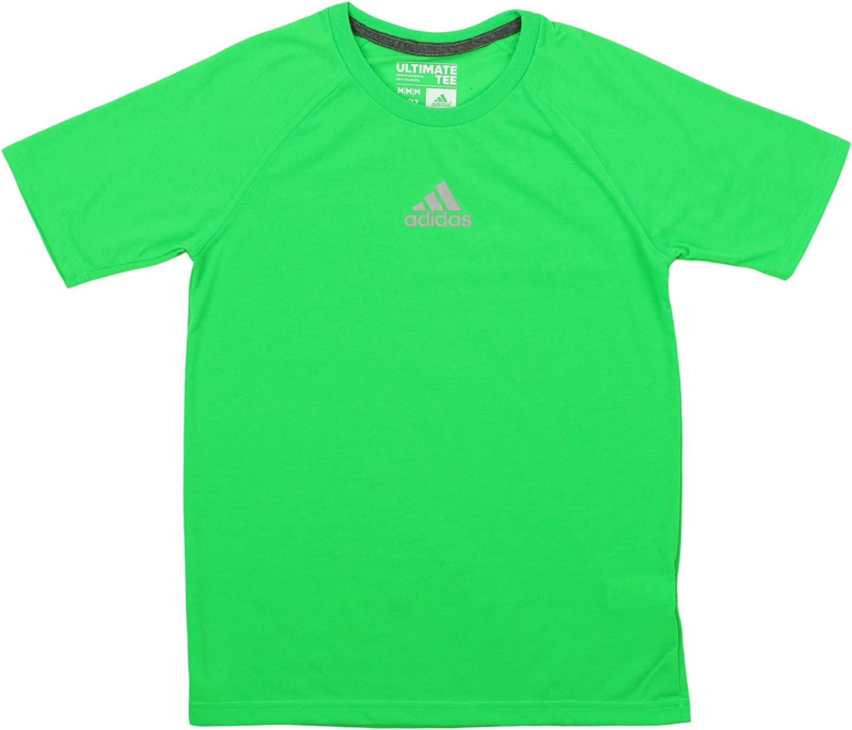 adidas Youth Boys Climalite Short Sleeve Performance Tee