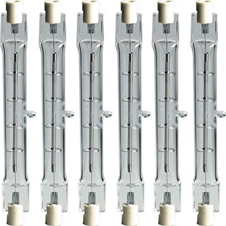 6-Pack GE Lighting 24929 Proline300 Halogen T3 130V 300-Watt Light Bulb
