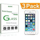 iPhone 7 6S 6 Screen Protector Glass RKINC iPhone 7 Tempered Glass Screen Protector For Apple iPhone 7 [3D Touch Compatible] iPhone 6S iPhone 6 2016 2015 (3-Pack)