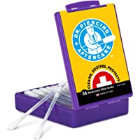 Dr. Piercing Aftercare Solution - 36 Medicated Swabs Treat Ear, Nose, Belly, and Body Piercings - Each Swab Contains…