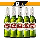 Cerveza Importada Stella Artois 12 Botellas de 330ml c/u