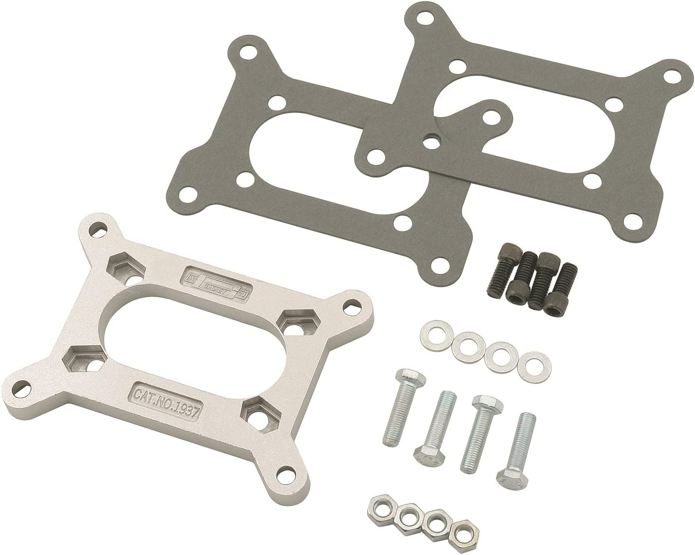 NEW Carter Rochester 4 Barrel to Holley Carburetor Adapter w// Hardware /& Gaskets