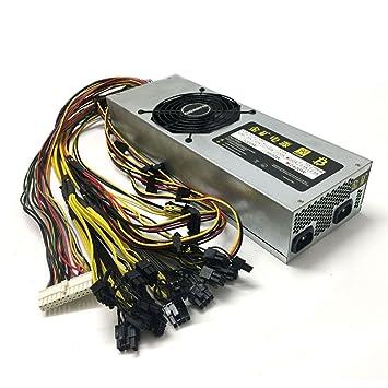 Amazon.com: Servidor Ethernet de alta gama 2400 W minería ...