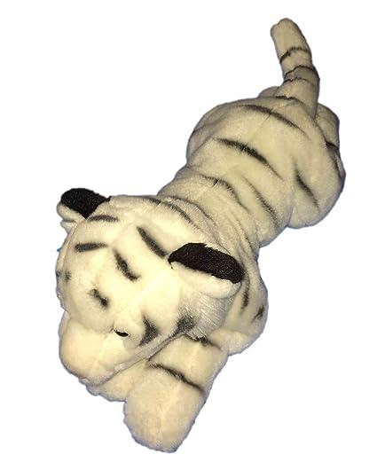 Amazon Com Toys R Us Animal Alley White Tiger 18 Plush Toys Games