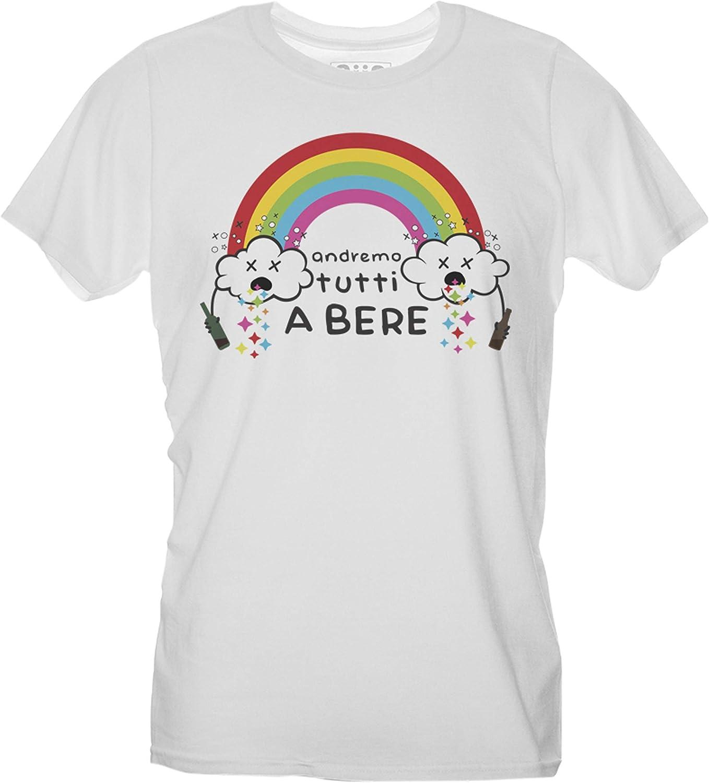 T-Shirt Andremo Tutti a Bere Andr/à Tutto Bene Choose Ur Color Quarantena