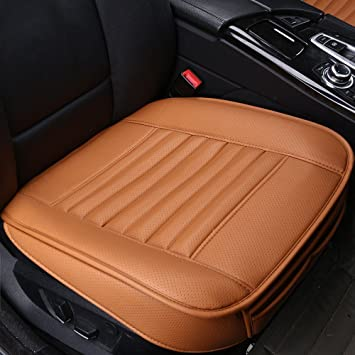 Car Seat Cushion PU Leathe Ventilated Breathable Comfortable Soft Cover Mat PadAnti
