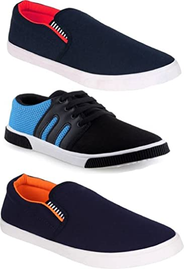 0f7cd3d4b WORLD WEAR FOOTWEAR Casual Stylish Loafers   Sneakers Shoes for ...