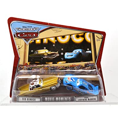 Cars Movie Moments Tex Dinoco & Dinoco Lightning McQueen: Toys & Games