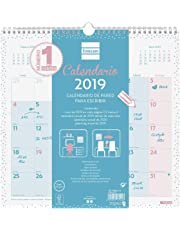 Calendario de pared 2019 español