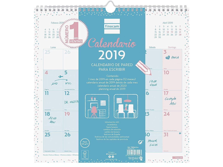 Calendario de pared 2019 catalán