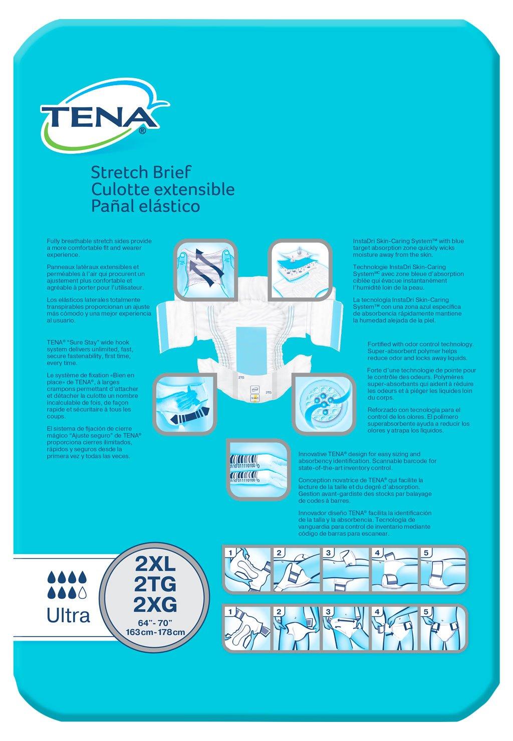 Amazon.com: TENA Bariatric Ultra Brief, XX-Large, 32 Count: Health & Personal Care