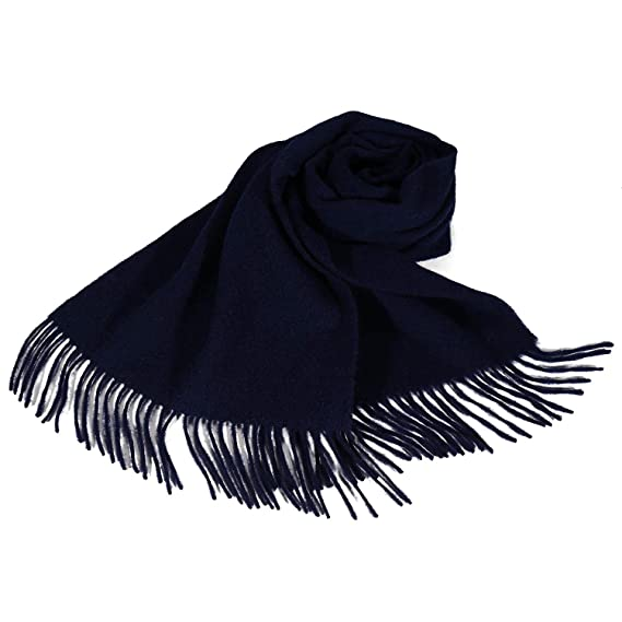 f4eccbd91763 i+k Écharpe en cachemire et laine de mérinos - 100% laine Écharpe en ...