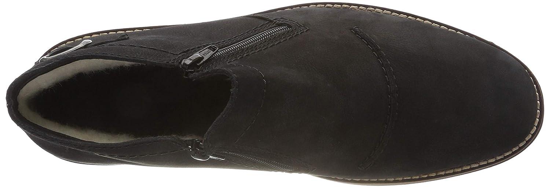 Rieker Herren 35362 Klassische Stiefel 02) Schwarz (Schwarz 02) Stiefel 9feca0